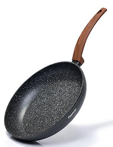 Сковорода для жарки Fissman Vesuvio Stone 24x4,9 см (алюминий) 4241 (1)