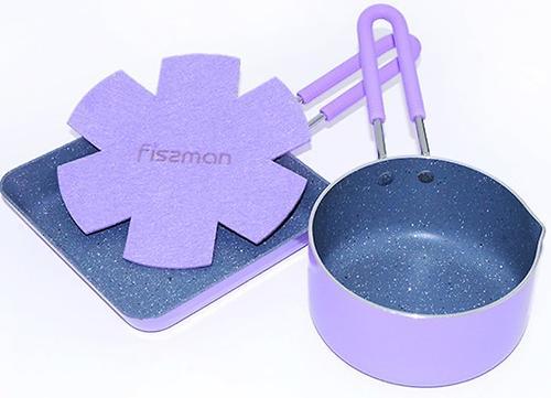 Набор Fissman Petite из ковша и квадратной сковороды (алюминий) 4867 (1)