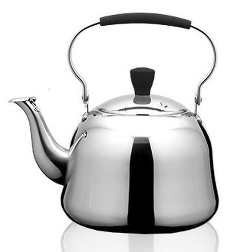 Чайник Fissman для кипячения воды с ситечком Rooibos 1 л (нерж. сталь) 5937 (1)
