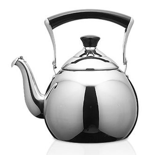 Чайник Fissman для кипячения воды Jasmine Pearl 2.5 л (нерж. сталь) 5939 (1)