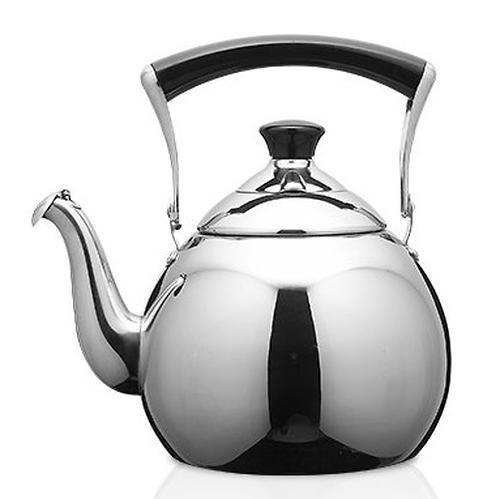 Чайник Fissman для кипячения воды Jasmine Pearl 1 л (нерж. сталь) 5941 (1)