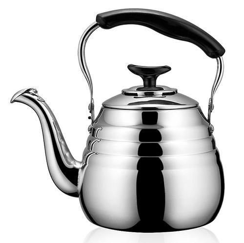 Чайник Fissman для кипячения воды Deauville 2 л со свистком (нерж. сталь) 5943 (1)