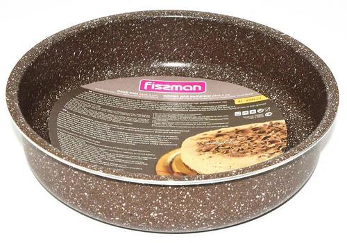 Форма для выпечки круглая Fissman 24x6,4 см (алюминий с антипригарным покрытием) 4999 (1)