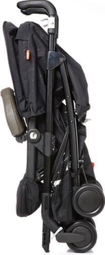 Коляска-трость GB Strete D613R Black 4HXX (6)