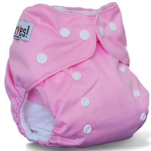 Многоразовый подгузник GlorYes! для приучения к горшку Розовый 3-15 кг + 2 вкладыша (7)