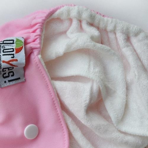 Многоразовый подгузник GlorYes! для приучения к горшку Розовый 3-15 кг + 2 вкладыша (10)