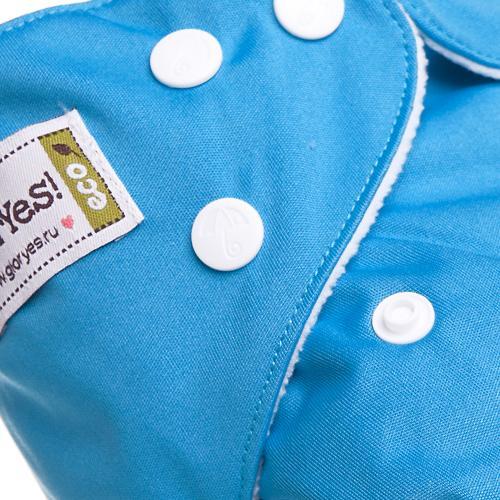 Многоразовый подгузник GlorYes! Classic Синий 3-15 кг + 1 вкладыш (9)