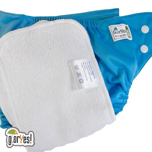 Многоразовый подгузник GlorYes! Classic Синий 3-15 кг + 1 вкладыш (10)