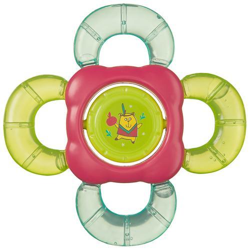 Прорезыватель-погремушка Happy Baby с водой TEETHER RATTLE (3)