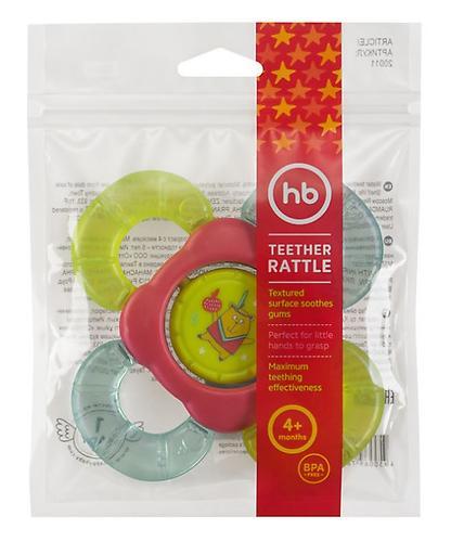 Прорезыватель-погремушка Happy Baby с водой TEETHER RATTLE (4)