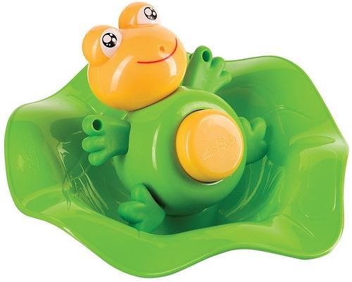 Прорезыватель-лягушка и ковш Happy Baby Funny frog (4)