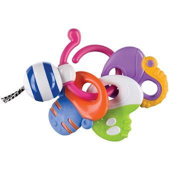 Погремушка-прорезыватель Happy Baby Keys of fun - Minim