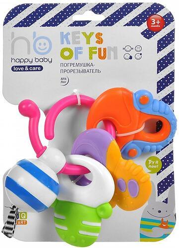 Погремушка-прорезыватель Happy Baby Keys of fun (4)