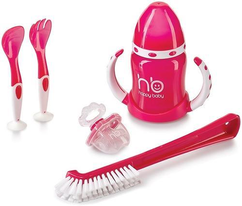 Ёршик для бутылочек Happy baby Clean+ Red (4)