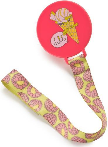 Держатель Happy Baby для пустышки Pacifier Holder Pink (3)