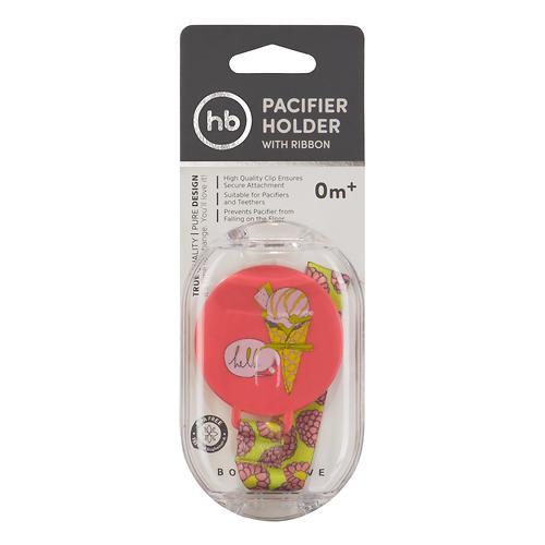 Держатель Happy Baby для пустышки Pacifier Holder Pink (4)