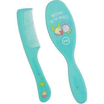 Набор щеток для волос Happy Baby Brush Comb Set Mint - Minim