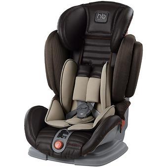 Автокресло Happy Baby Mustang Black (темно-коричневое) - Minim