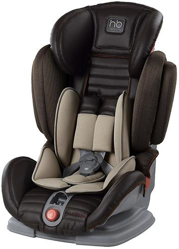 Автокресло Happy Baby Mustang Black (темно-коричневое) (4)