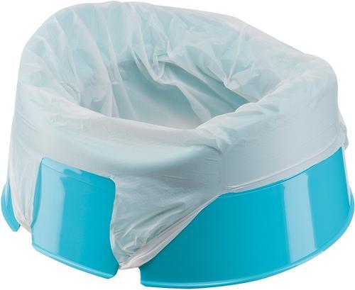 Горшок дорожный Happy Baby с набором одноразовых пакетов Mini Potty blue (4)