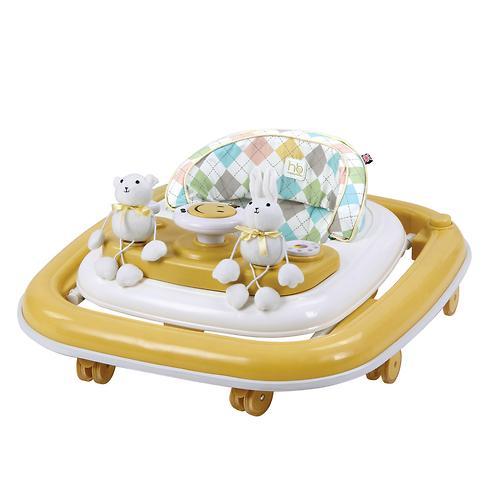 Уценка! Ходунки Happy Baby Smiley Yellow (9)