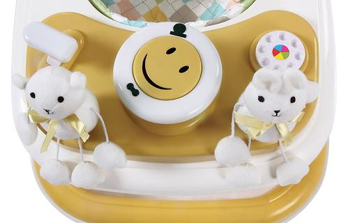 Уценка! Ходунки Happy Baby Smiley Yellow (10)