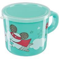 Кружка с ручкой и крышкой Happy Baby Training Cup Mint
