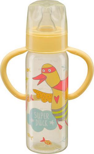 Бутылочка Happy Baby с узким горлышком Baby Bottle 250 мл желтый (3)