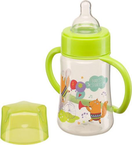 Бутылочка Happy Baby с широким горлышком Baby Bottle 250 мл Салатовый (4)