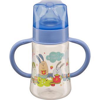 Бутылочка Happy Baby с широким горлышком Baby Bottle 250 мл Cиреневая - Minim