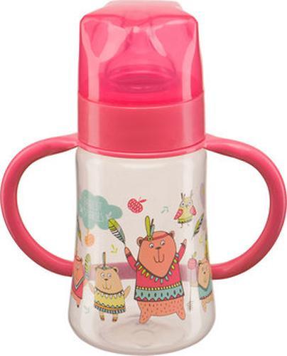 Бутылочка Happy Baby с широким горлышком Baby Bottle 250 мл Красный (3)