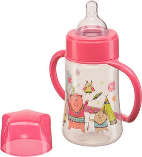 Бутылочка Happy Baby с широким горлышком Baby Bottle 250 мл Красный (4)