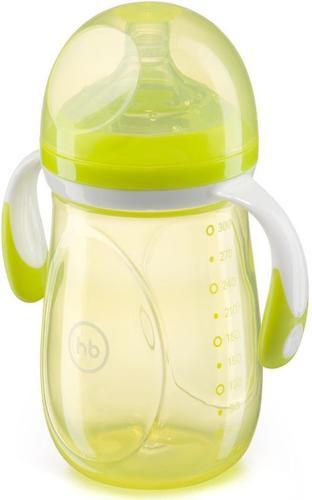 Бутылочка Happy Baby антиколиковая Baby Bottle 300 мл Салатовая (5)