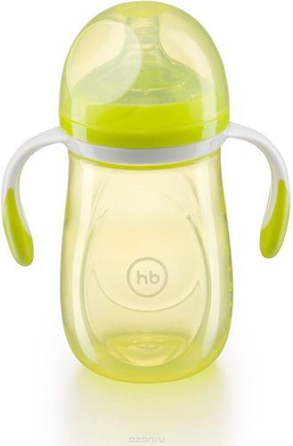 Бутылочка Happy Baby антиколиковая Baby Bottle 300 мл Салатовая (6)