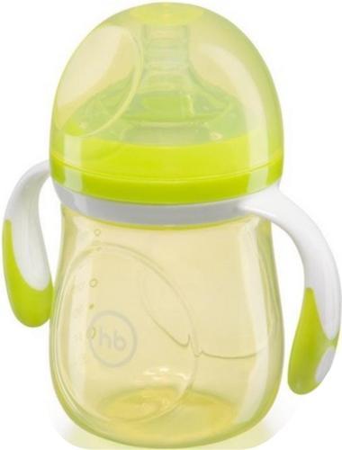 Бутылочка Happy Baby антиколиковая Baby Bottle 180 мл Салатовая (4)