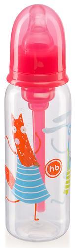 Бутылочка Happy Baby Baby антиколиковая с силиконовой соской 250мл 10015 Ruby (5)