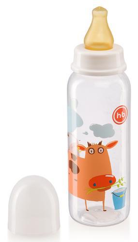Бутылочка Happy Baby Baby Bottle с латексной соской 250мл 10018 в ассортименте (8)