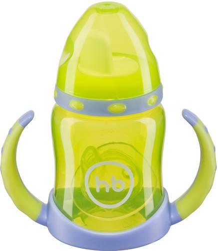 Поильник Happy Baby с двумя тренировочными клапанами Feeding Cup Lime (5)