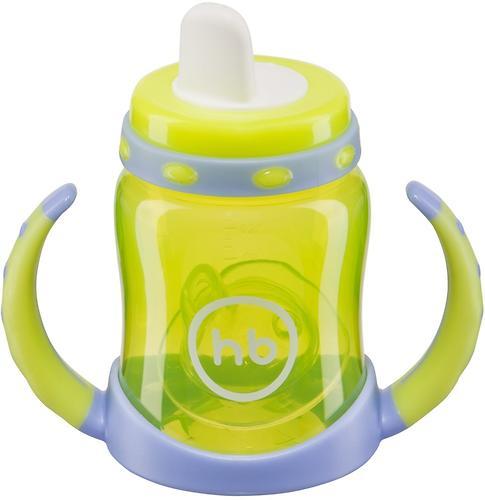Поильник Happy Baby с двумя тренировочными клапанами Feeding Cup Lime (6)