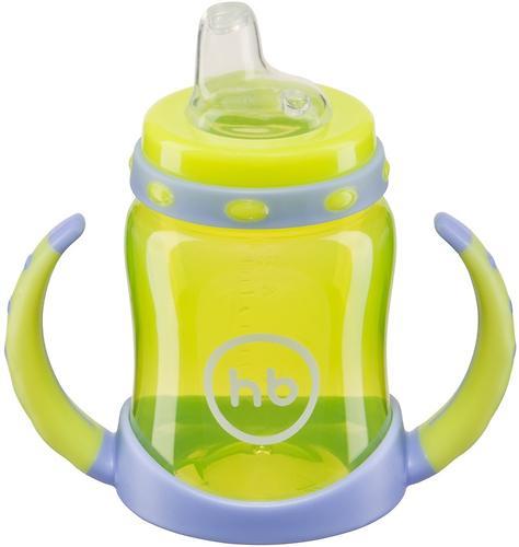 Поильник Happy Baby с двумя тренировочными клапанами Feeding Cup Lime (7)