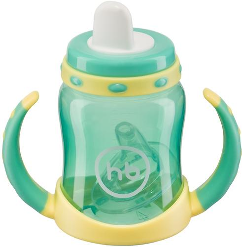 Поильник Happy Baby с двумя тренировочными клапанами Feeding Cup Mint (6)