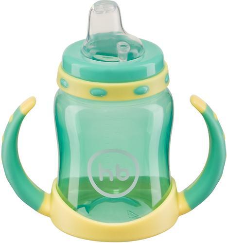 Поильник Happy Baby с двумя тренировочными клапанами Feeding Cup Mint (7)