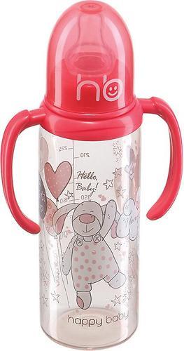 Бутылочка для кормления Happy Baby 250 мл, две силиконовые соски Coral (3)