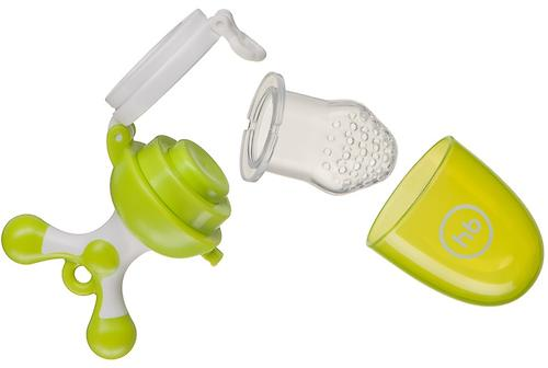 Ниблер Happy Baby силиконовый Nibbler Twist Lime (7)
