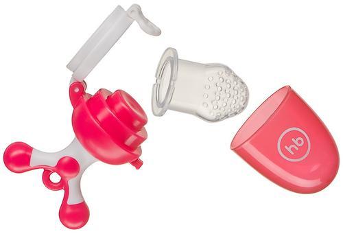Ниблер Happy Baby силиконовый Nibbler Twist Red (7)