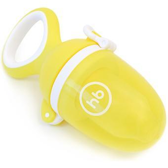 Ниблер Happy Baby силиконовый для пюре Nibbler Twist Yellow - Minim
