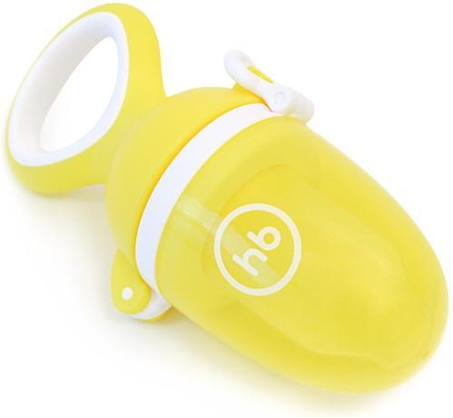 Ниблер Happy Baby силиконовый для пюре Nibbler Twist Yellow (5)
