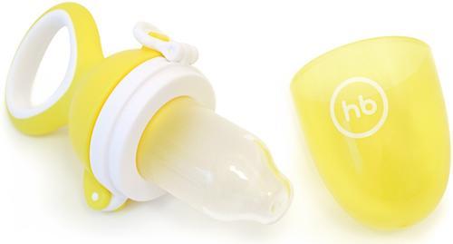Ниблер Happy Baby силиконовый для пюре Nibbler Twist Yellow (6)