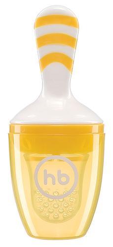 Ниблер с силиконовой сеточкой Happy Baby Nibbler With Silicone Poucn Yellow 15047 (5)