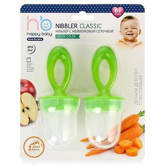Ниблер Happy Baby Nibbler Classic Green - Minim